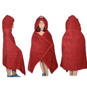 Handuk Anak Microfiber Cuddlerobe - Seri Hewan