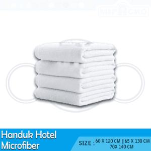 Handuk Hotel Microfiber - Long Pile - Small