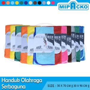 Handuk Olahraga Microfiber - Serbaguna 12