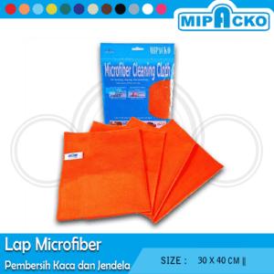 Lap Microfiber Pembersih Kaca dan Jendela
