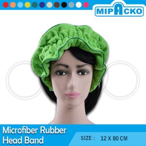 microfiber rubber head