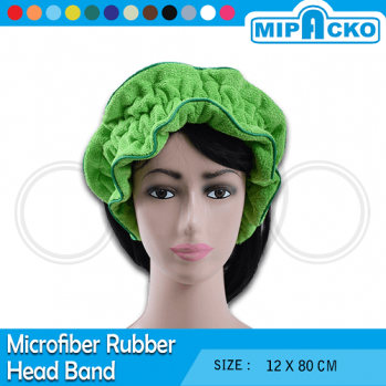 microfiber rubber head