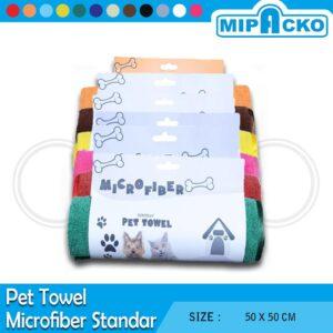 Pet Towel Microfiber - Standar 8