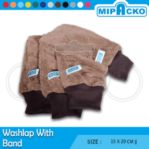 Washlap with Band Microfiber 6